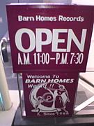 BARNHOMES RECORDS