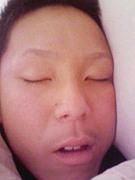 良介の寝顔