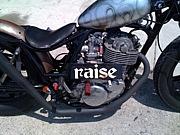 raise motorcycle