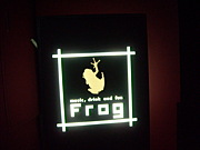 music, drink and fun FROG