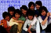 Kis-My-Ft?は8人で1つ☆☆