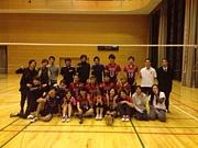 東京でバレーボール