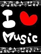 I LOVE MUSIC♪♪♪