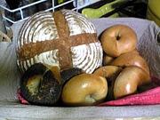 初めての天然酵母パン