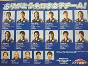 全日本女子バレーアテネ世代
