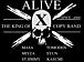 ALIVE (X copyband)