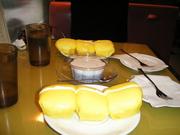 マンゴーパンケーキを日本で食す