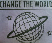 *302*CHANGE THE WORLD*
