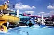 昭和記念公園プールの売店の会