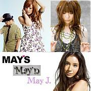 MAY'S×May'n×May J.