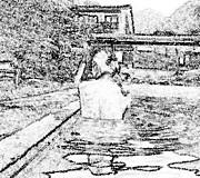 混浴温泉露天風呂行きたいな!