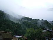 山にかかる霧が好き