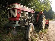 古いトラクターがたまらん