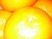 柑橘類で汗をかく