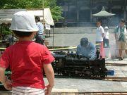 ライブスチィーム「蒸気機関車」