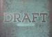 DRAFT/ドラフト