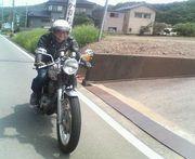 福井 で バイク に乗っている