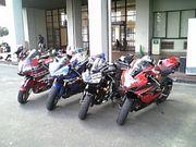 学生の大型バイク乗り