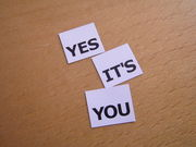 YES IT'S YOU