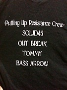 PUTTING UP RESISTANCE CREW
