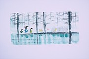 「風墨画」まんが日本昔話の世界