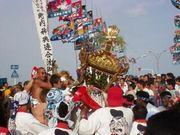 羽田の神輿