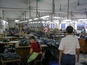 中国アパレル工場