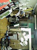 大田高校美術部室