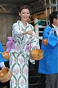 打ち水 in 富士
