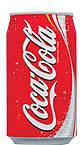 コーラ=コカコーラ350ml缶
