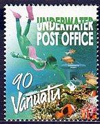バヌアツ海底郵便局からお手紙を