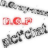D.Gray-man*pictchat