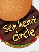 Sea heart circle