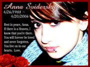 We love you. Anna