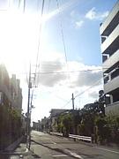 空の写真を撮る