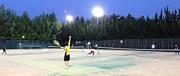 明石付近でテニス!
