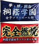桐蔭ソフトボール部 参上