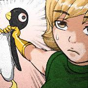 ペンギン虐待女
