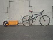 サイクルトレーラー(手作り)