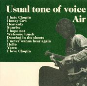 Usual tone of voice