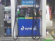 フルサービスのガソリンスタンド
