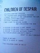 Sadie-「CHILDREN OF DESPAIR」