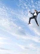 飛び降りるのが好き