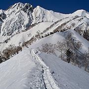 遠見尾根・五竜岳