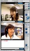 手話でwebcam・TV電話