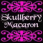 Skullberry Macaron