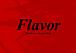 『Flavor』