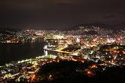 鍋冠山から見る夜景がスキ★