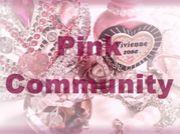 ピンクのコミュニティ