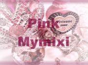 ピンクのマイミクシィ